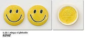 McCOY POTTERY -- SMILE (HAPPY) FACE PAPERWEIGHT