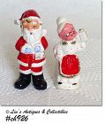 MR. AND MRS. CLAUS SHAKER SET