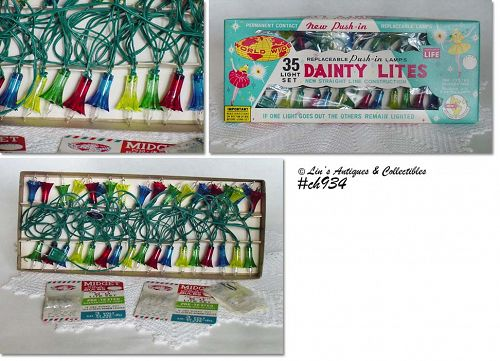 "WORLD-WIDE ""DAINTY LITES"" IN ORIGINAL BOX"