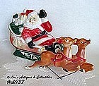LIGHTED SANTA WITH 2 REINDEER (EMPIRE PLASTICS)