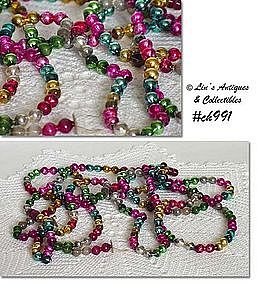 GLASS BEAD GARLAND (MULTI-COLOR)