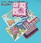 SIX LARGE SIZE HANDKERCHIEFS
