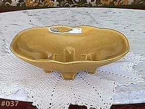 McCOY POTTERY -- ARTIFICIAL FLOWER DISH PLANTER