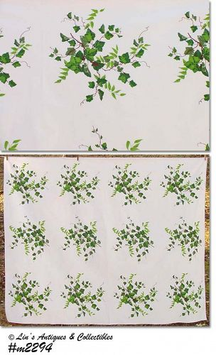 "WILENDUR ""IVY"" VINTAGE TABLECLOTH"