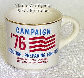 McCOY POTTERY -- BOY SCOUT CUP (CAMPAIGN '76)