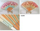 OCCUPIED JAPAN -- HAND HELD FAN