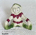 SITTING ELF FIGURINE
