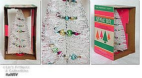 ST. NICK TABLETOP CHRISTMAS TREE (IN ORIGINAL BOX)