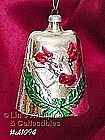 WEST GERMANY -- BELL WITH EMBOSSED COW ORNAMENT
