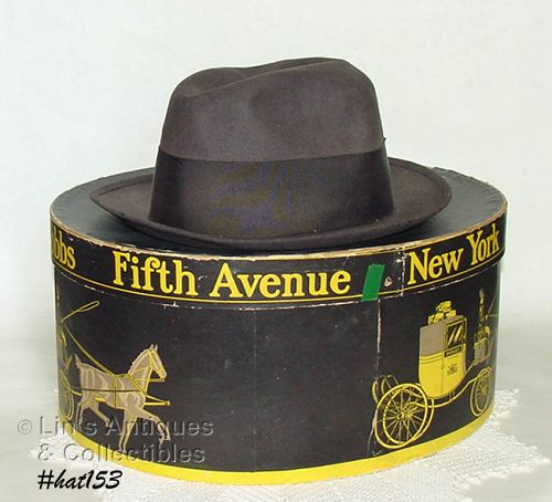 DOBBS FIFTH AVENUE GENTLEMAN'S HAT