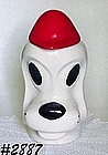 "McCOY POTTERY -- ""CLYDE"" DOG COOKIE J AR"