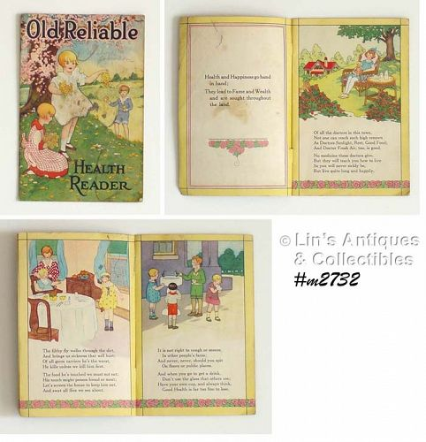 CHILDREN�S �HEALTH READER� BY OLD RELIABLE COFFEE