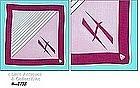 MONOGRAM �H� HANDKERCHIEF WITH HERRMANN ORIGINAL TAG
