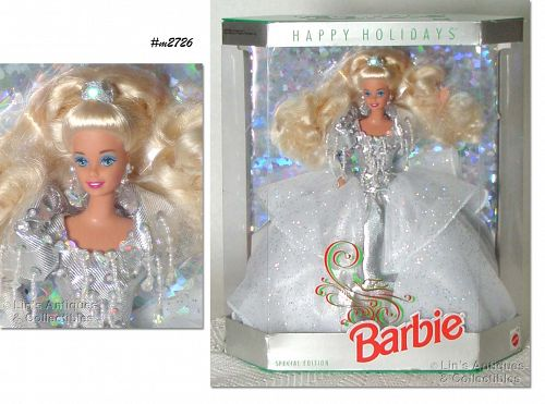 1992 HAPPY HOLIDAYS BARBIE