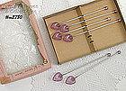 6 SIP �N� STIR SPOONS IN ORIGINAL BOX