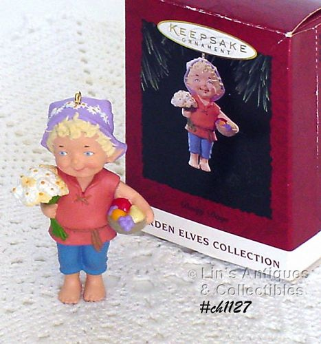 HALLMARK � �DAISY DAYS� GARDEN ELF ORNAMENT (1994)
