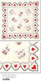 BEAUTIFUL VALENTINE HANDKERCHIEF