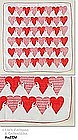 HEARTS AND LOCKS VALENTINE HANKY