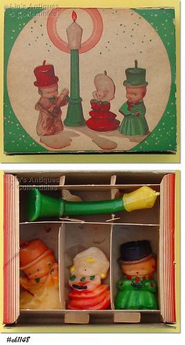 GURLEY CANDLE � BOX FOR CAROLER CANDLE SET