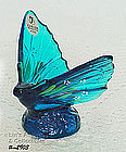 FENTON � HAND PAINTED BUTTERFLY FIGURINE