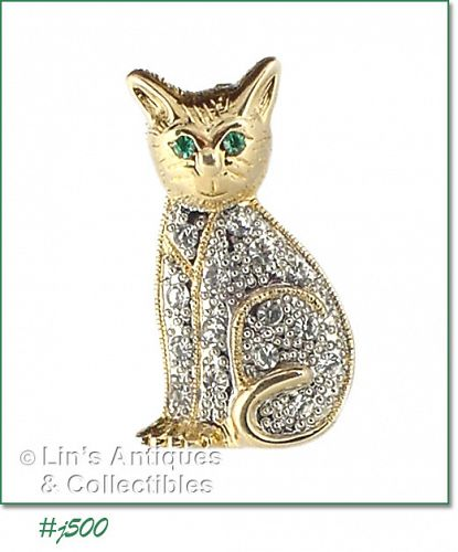 EISENBERG ICE � SITTING CAT PIN