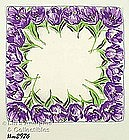 BEAUTIFUL PURPLE TULIPS HANDKERCHIEF