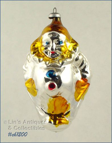 CLOWN SHAPED ORNAMENT