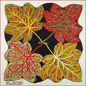 MAPLE LEAVES HANDKERCHIEF