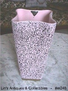 SHAWNEE POTTERY -- CHANTILLY VASE WITH LABEL