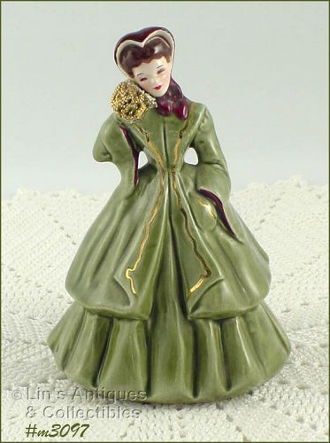 FLORENCE CERAMICS � �IRENE� (GREEN DRESS)