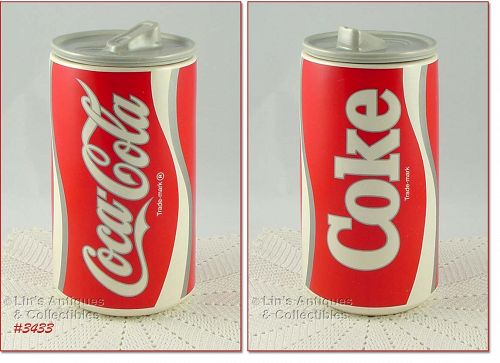 McCOY POTTERY � COKE CAN COOKIE JAR