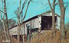 POSTCARD � COVERED BRIDGE, PARKE COUNTY, INDIANA, No. 5
