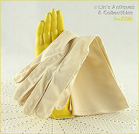 LADIES GLOVES (IVORY COLOR)