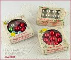3 BOXES SMALL ORNAMENTS (30)