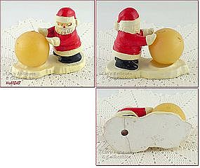 HOLT HOWARD � SANTA PUSHING SNOWBALL