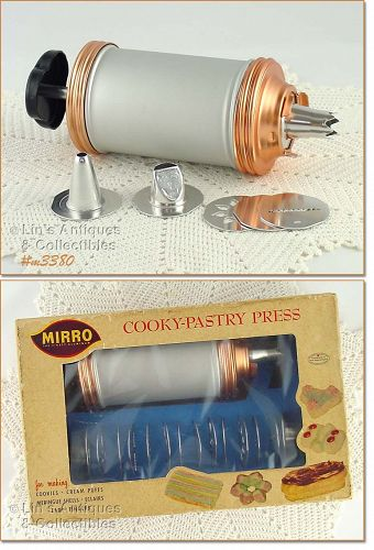 ALUMINUMWARE � MIRRO COOKY PASTRY PRESS