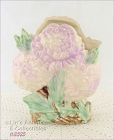 McCOY POTTERY � CHRYSANTHEMUM VASE (LILAC COLOR)