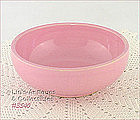 McCOY POTTERY � PINK CEREAL BOWL
