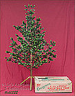 ALUMINUM SPECIALTY CO 4 ½ FT. EVERGREEN CHRISTMAS TREE
