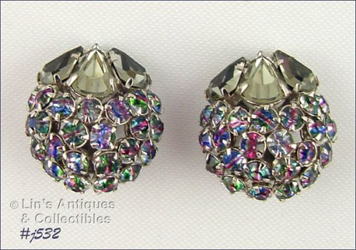 WARNER RHINESTONE EARRINGS