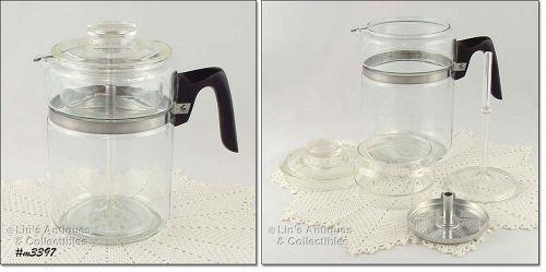 PYREX � 9 CUP COFFEE MAKER/ COFFEE POT