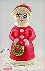 ELECTRIC LIGHTED MRS. CLAUS