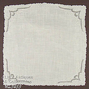 GORGEOUS WEDDING HANDKERCHIEF
