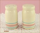 McCOY POTTERY � STONECRAFT PINK AND BLUE SHAKER SET
