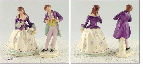 �ANATOLE AND CAMILLE� COURTING COUPLE FIGURINES