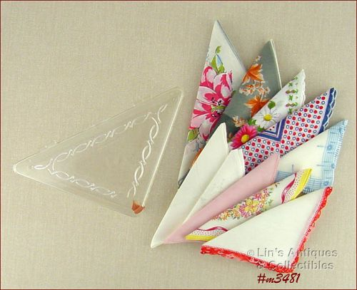 HOMMER HANDKERCHIEF BOX WITH 10 HANDKERCHIEFS