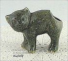 "MORTON POTTERY � ""FRAIDY"" CAT PLANTER (UNUSUAL COLOR)"