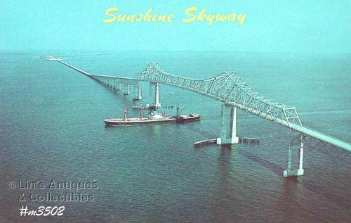 POSTCARD � SUNSHINE SKYWAY, FLORIDA