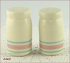 McCOY POTTERY � PINK AND BLUE SHAKER SET
