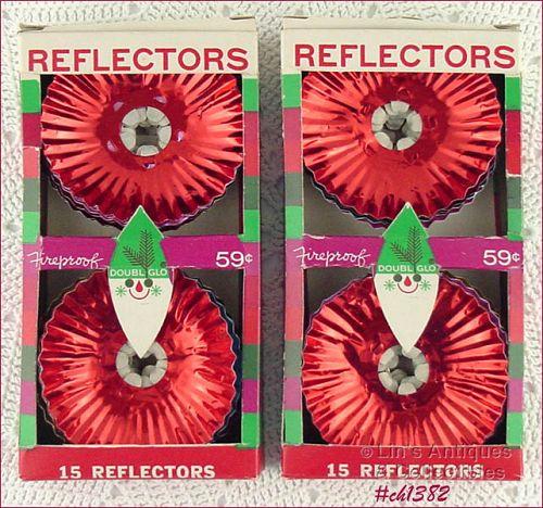 ALUMINUM LIGHT REFLECTORS IN ORIGINAL BOX